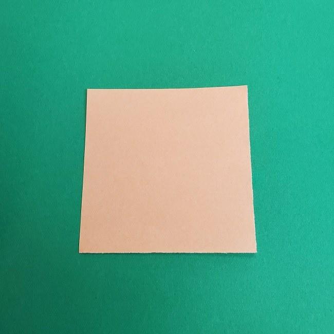 キュアアースの折り紙 折り方・作り方 (1)