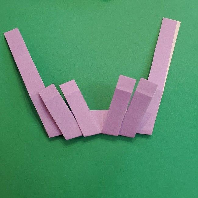 キュアアースの折り紙 折り方・作り方 (16)