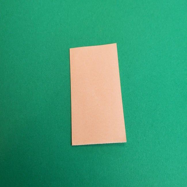 キュアアースの折り紙 折り方・作り方 (2)