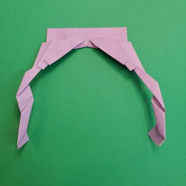 キュアアースの折り紙 折り方・作り方 (21)