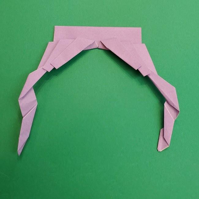 キュアアースの折り紙 折り方・作り方 (22)