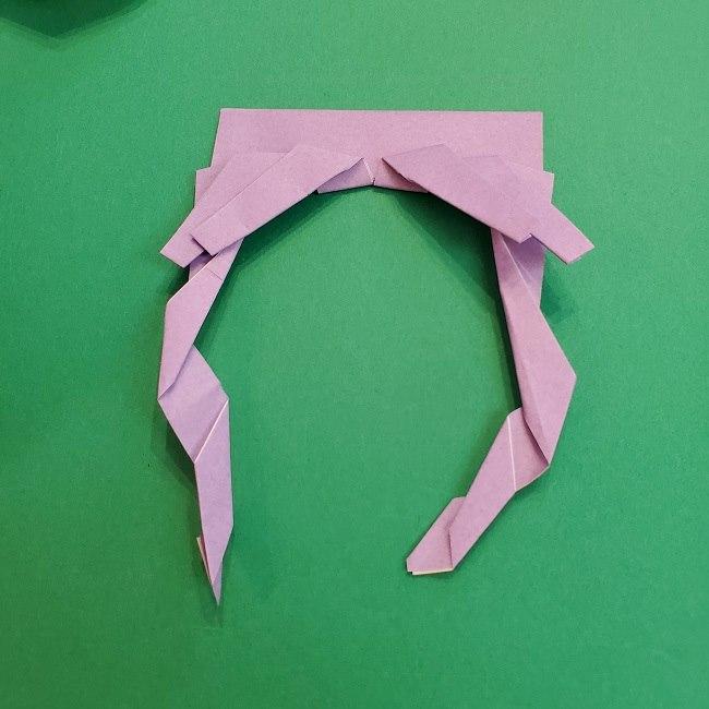 キュアアースの折り紙 折り方・作り方 (23)