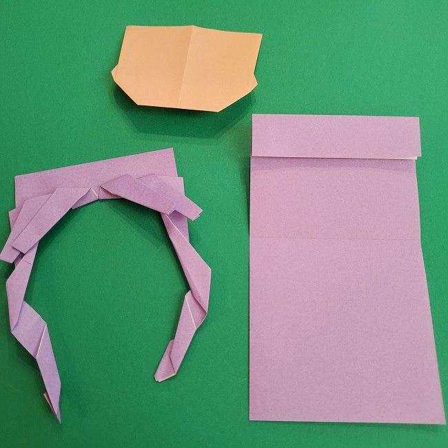 キュアアースの折り紙 折り方・作り方 (26)