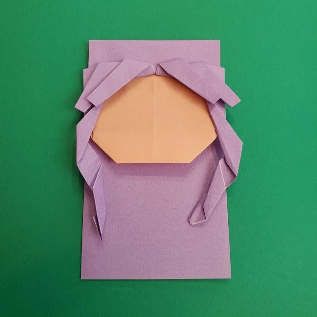 キュアアースの折り紙 折り方・作り方 (28)