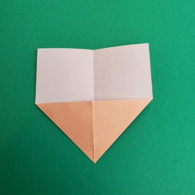 キュアアースの折り紙 折り方・作り方 (3)
