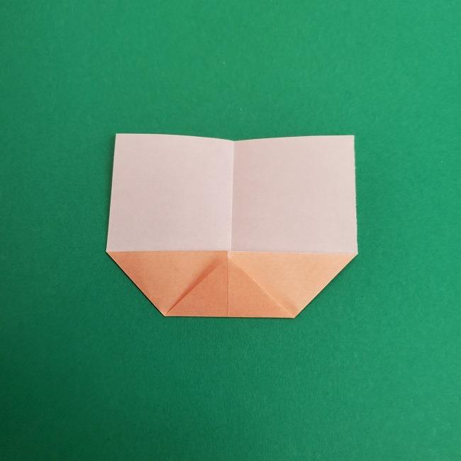 キュアアースの折り紙 折り方・作り方 (4)