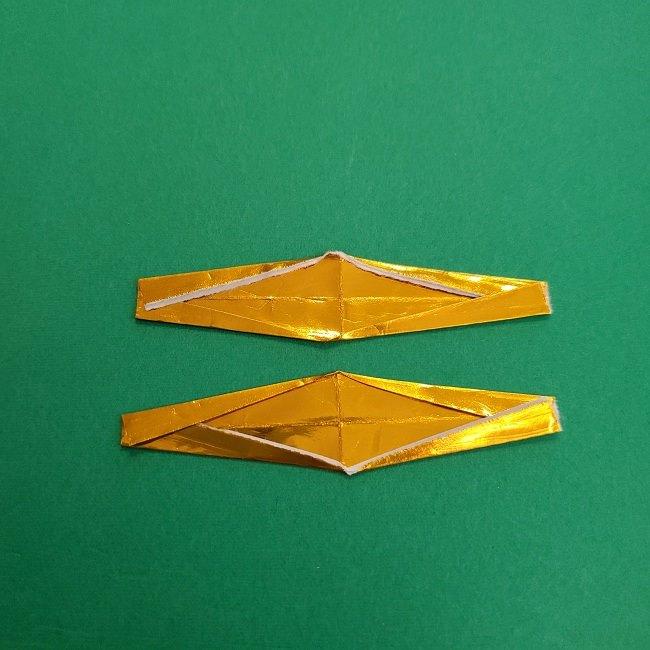 キュアアースの折り紙 折り方・作り方 (46)