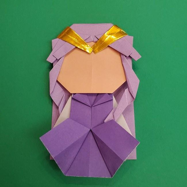 キュアアースの折り紙 折り方・作り方 (47)