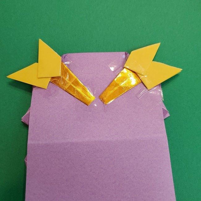 キュアアースの折り紙 折り方・作り方 (61)