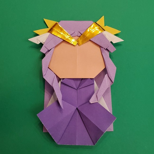キュアアースの折り紙 折り方・作り方 (62)
