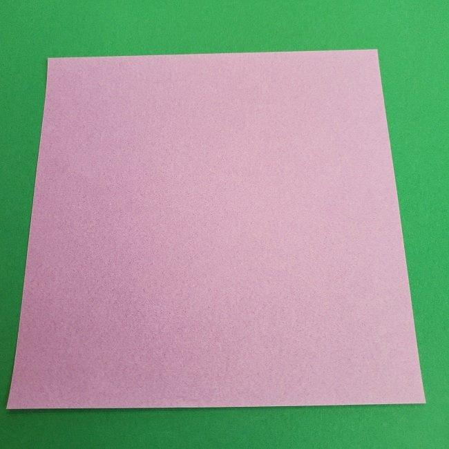 キュアアースの折り紙 折り方・作り方 (7)