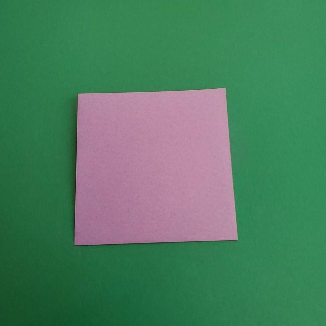 キュアアースの折り紙 折り方・作り方 (9)