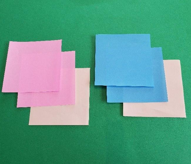 クリスチーヌとフランソワの折り紙*用意するもの (1)