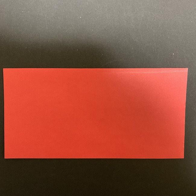 チューリップの折り紙の花束(平面)*用意するもの (2)