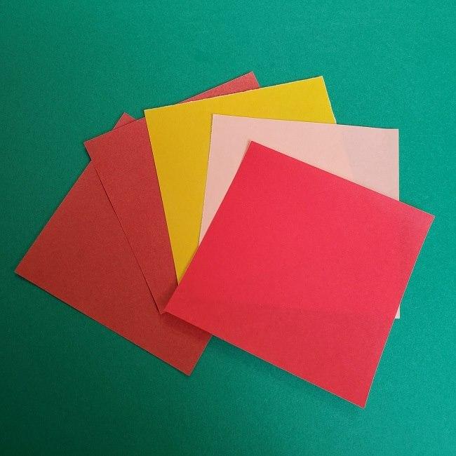 トトロめいちゃんの折り紙*用意するもの (1)