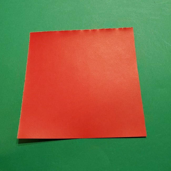 パックンフラワーの折り紙*折り方作り方 (1)