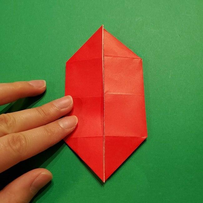 パックンフラワーの折り紙*折り方作り方 (11)