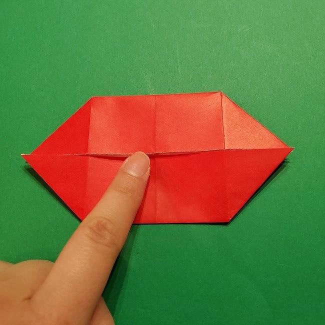 パックンフラワーの折り紙*折り方作り方 (12)