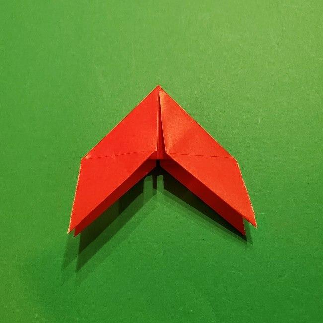 パックンフラワーの折り紙*折り方作り方 (16)