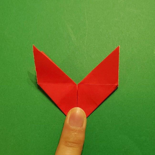 パックンフラワーの折り紙*折り方作り方 (17)