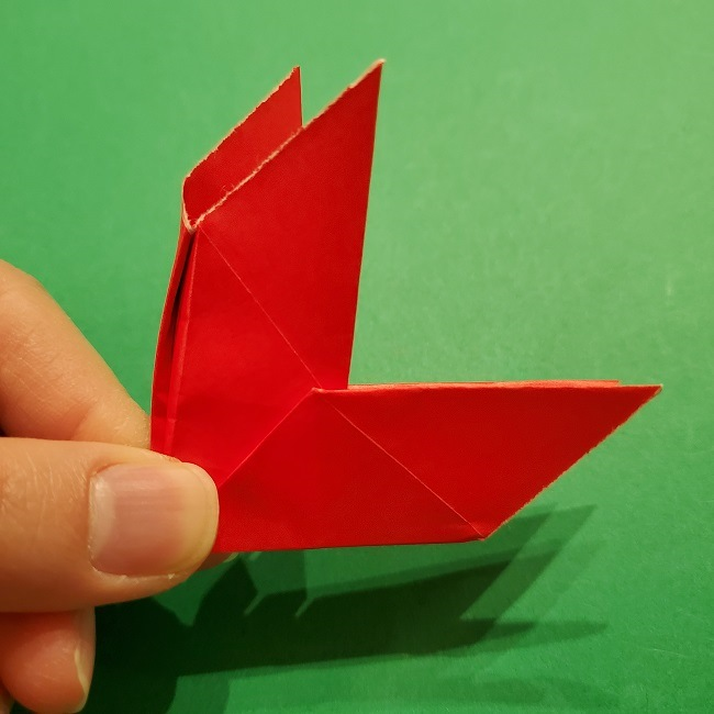 パックンフラワーの折り紙*折り方作り方 (18)
