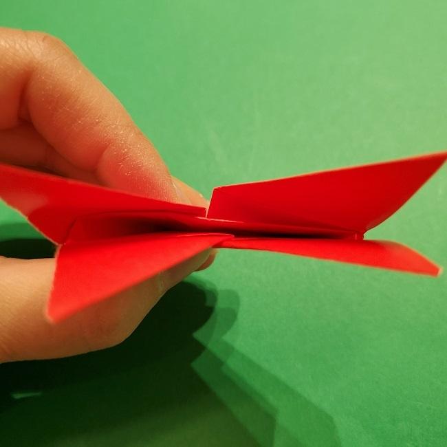 パックンフラワーの折り紙*折り方作り方 (19)
