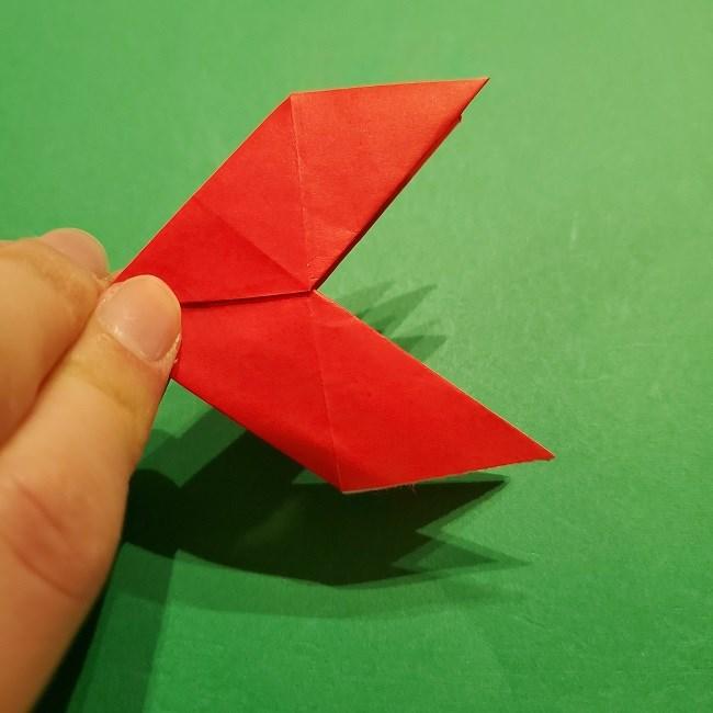 パックンフラワーの折り紙*折り方作り方 (20)