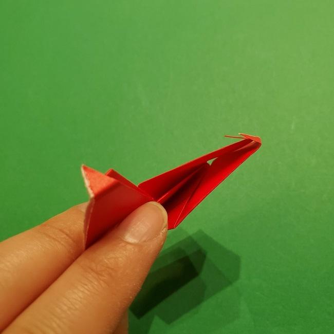 パックンフラワーの折り紙*折り方作り方 (21)