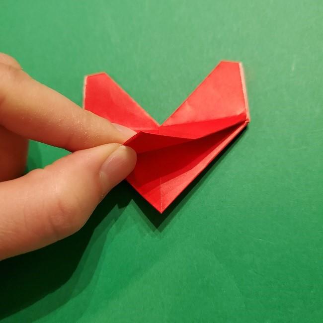 パックンフラワーの折り紙*折り方作り方 (22)