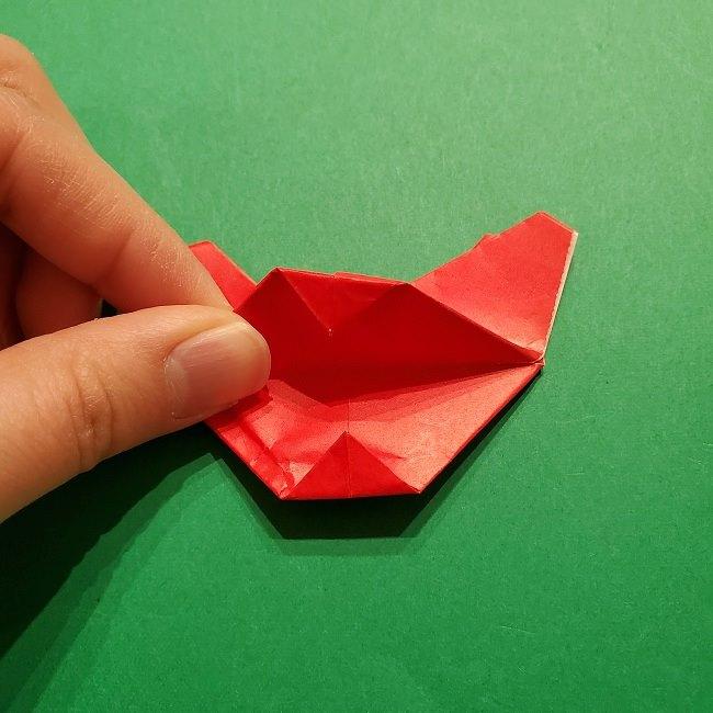 パックンフラワーの折り紙*折り方作り方 (23)