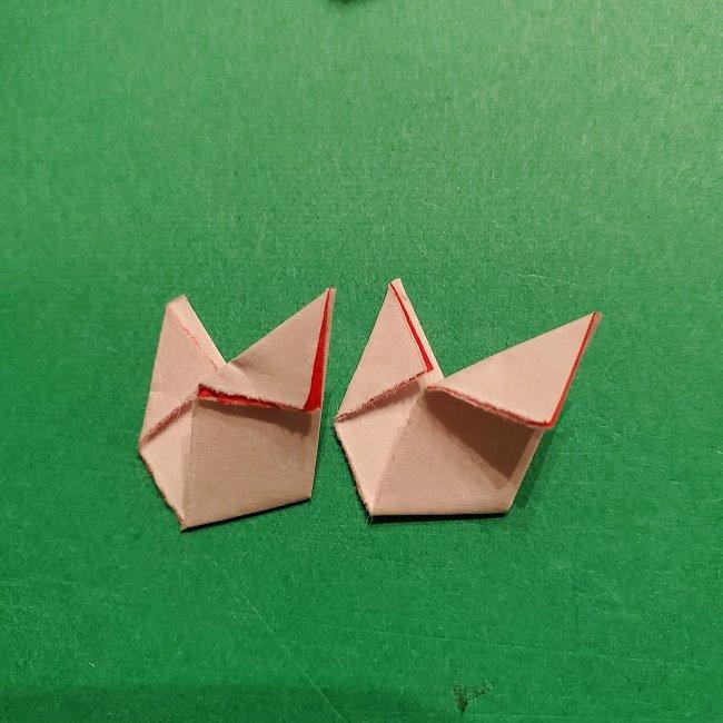 パックンフラワーの折り紙*折り方作り方 (34)