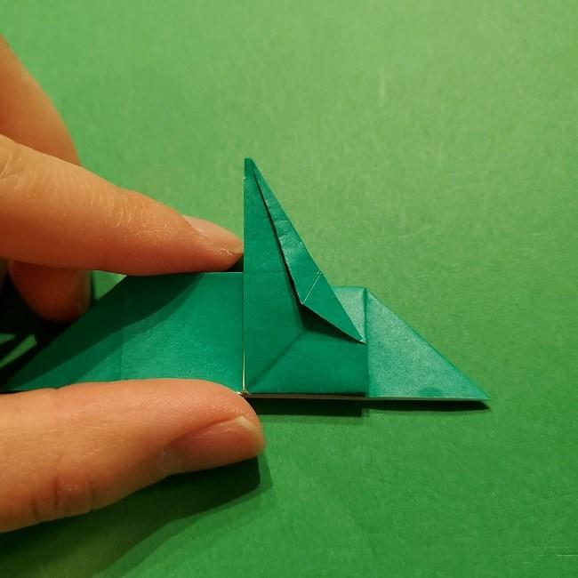 パックンフラワーの折り紙*折り方作り方 (44)