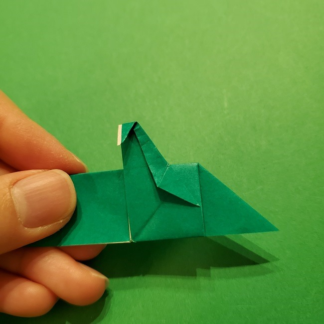 パックンフラワーの折り紙*折り方作り方 (45)