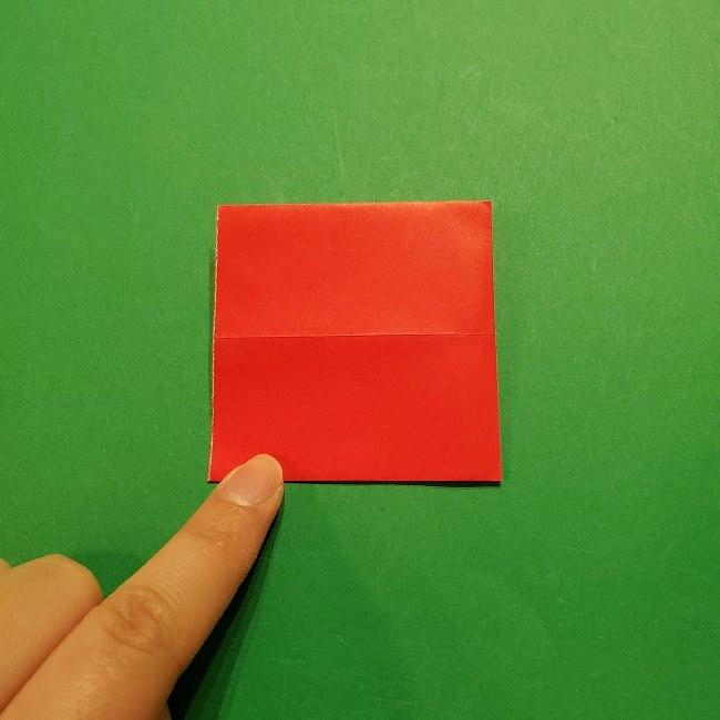 パックンフラワーの折り紙*折り方作り方 (5)