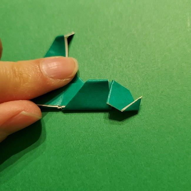 パックンフラワーの折り紙*折り方作り方 (57)