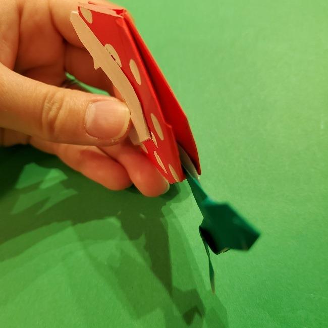 パックンフラワーの折り紙*折り方作り方 (62)