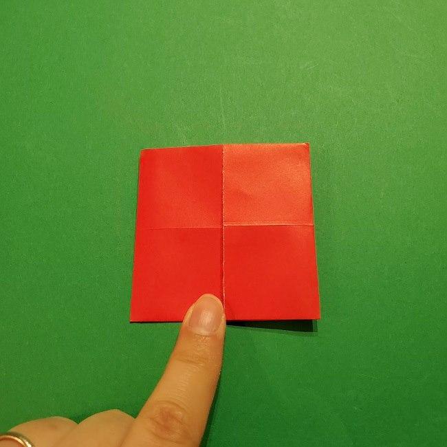 パックンフラワーの折り紙*折り方作り方 (7)