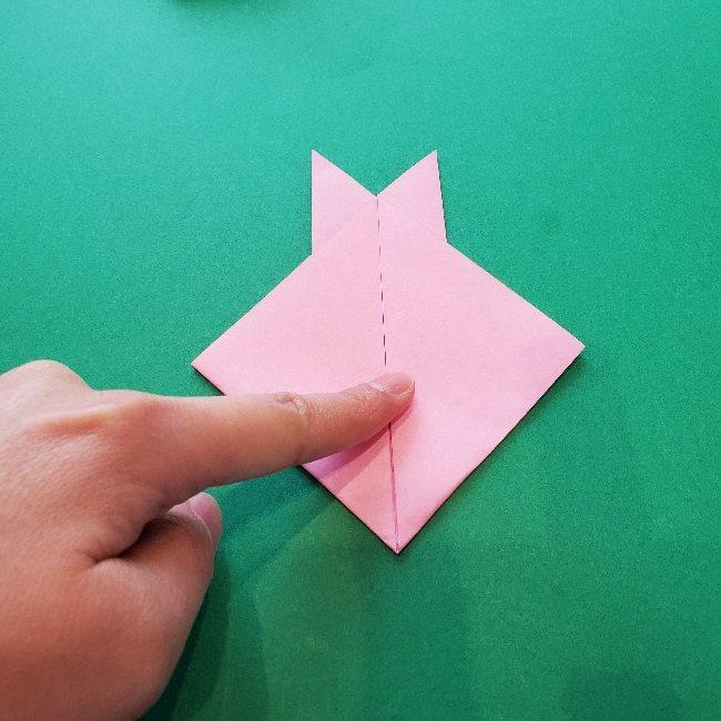 ヒーリングっとプリキュア★ラビリンの折り紙*折り方作り方 (5)