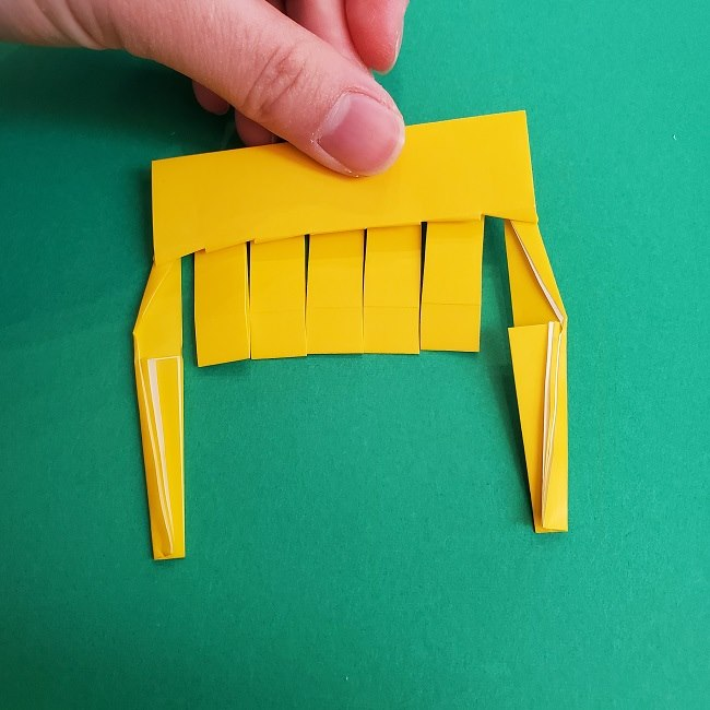 プリキュアの折り紙の作り方★キュアスパークル (22)