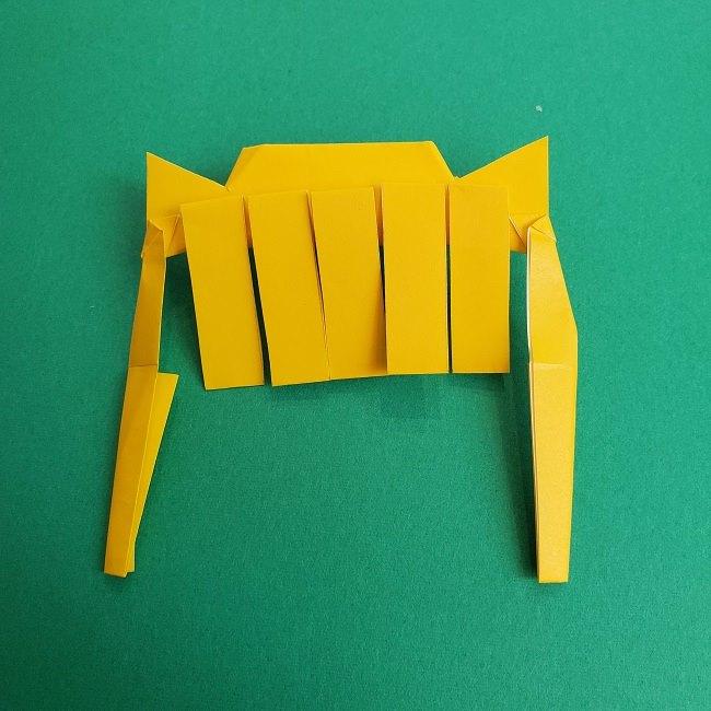 プリキュアの折り紙の作り方★キュアスパークル (24)