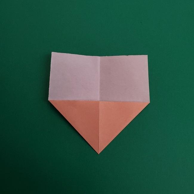 プリキュアの折り紙の作り方★キュアスパークル (3)