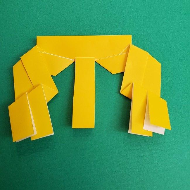 プリキュアの折り紙の作り方★キュアスパークル (34)