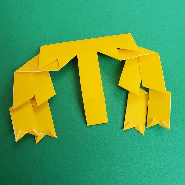 プリキュアの折り紙の作り方★キュアスパークル (36)