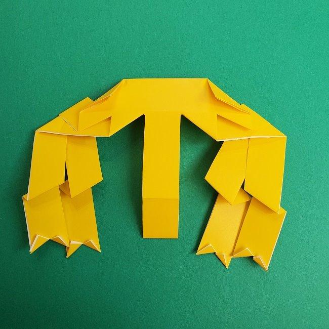 プリキュアの折り紙の作り方★キュアスパークル (37)