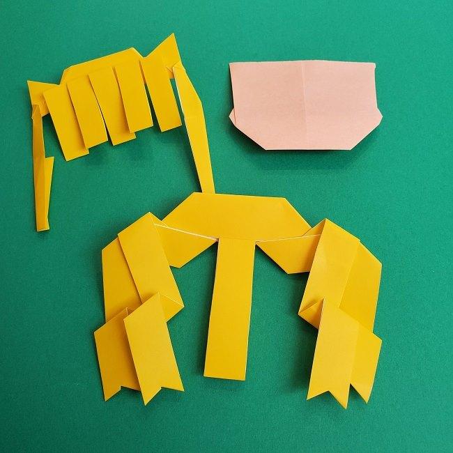 プリキュアの折り紙の作り方★キュアスパークル (38)