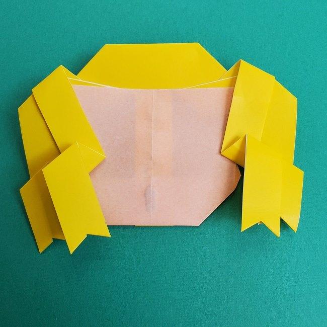 プリキュアの折り紙の作り方★キュアスパークル (39)