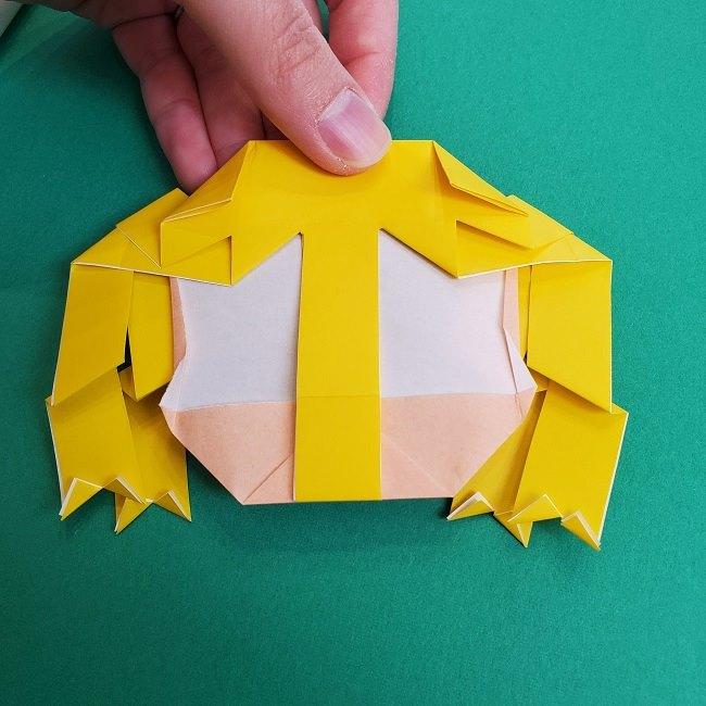 プリキュアの折り紙の作り方★キュアスパークル (40)