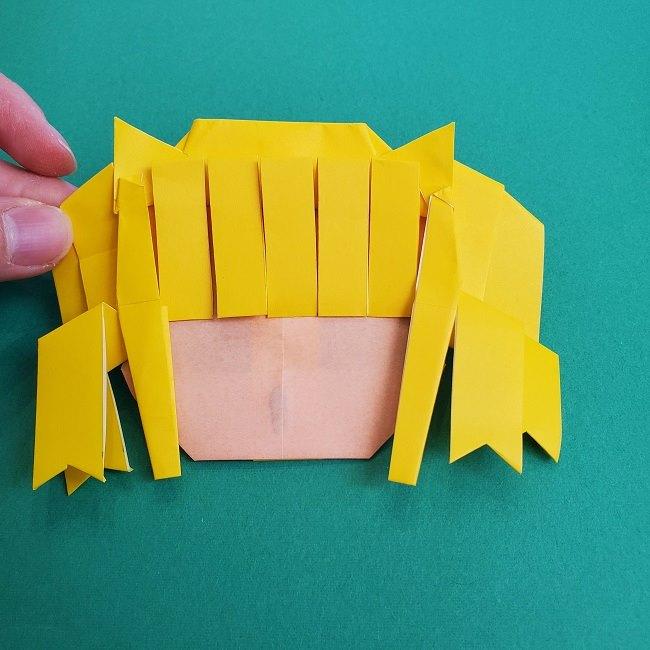 プリキュアの折り紙の作り方★キュアスパークル (41)