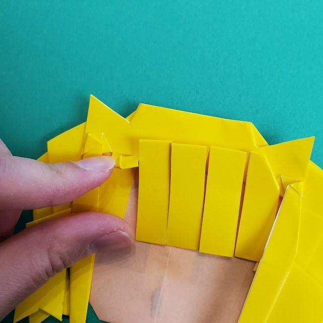 プリキュアの折り紙の作り方★キュアスパークル (42)