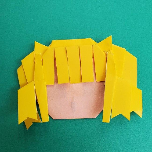 プリキュアの折り紙の作り方★キュアスパークル (43)